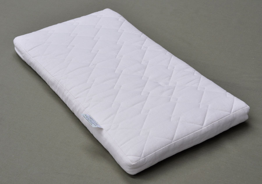 Organic Coconut Core & Wool Baby Bassinet Mattress  Firm