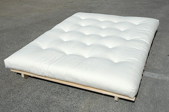 futon natural bed