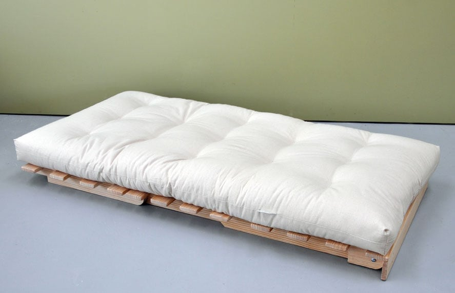 Organic Latex Core Cotton Wool Futon