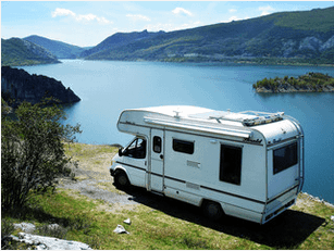 motorhome , nature