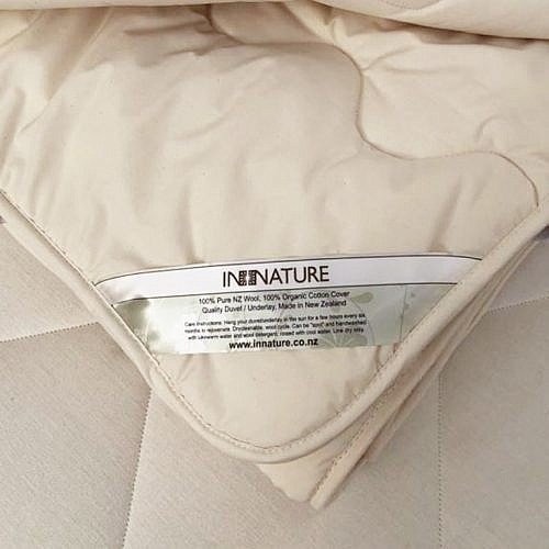 wool mattress protector, INNATURE