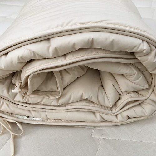 Organic wool duvet inner