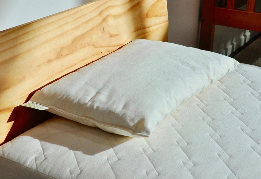 Organic Wool Cotton Child S Pillow, Organic Linen Bedding Nz