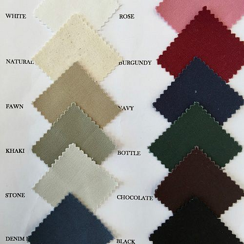 Futon cover colours