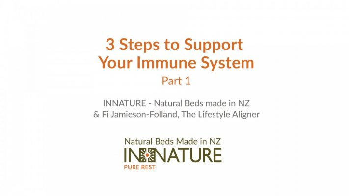 support immune system, 3 Steps to Support Your Immune System – Part 1, INNATURE